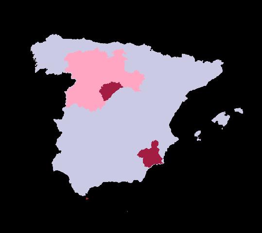 Delegaciones en España